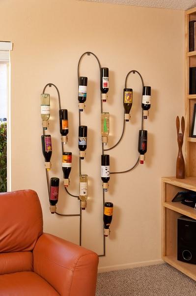 'Кактус'-подставка для бутылок от Klineworks
