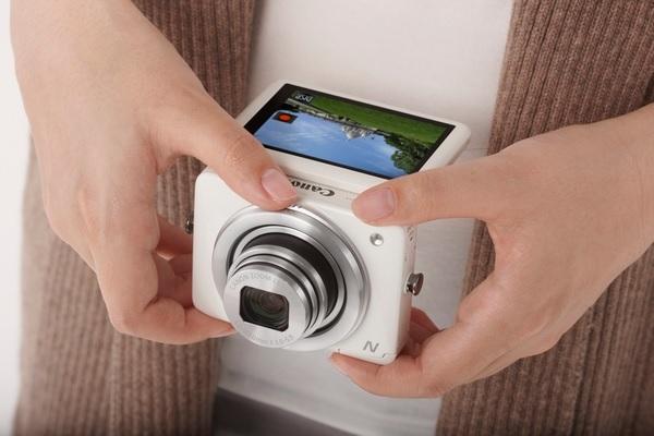 Canon PowerShot N - один из лучших гаджетов-новогодних подарков для мужчин