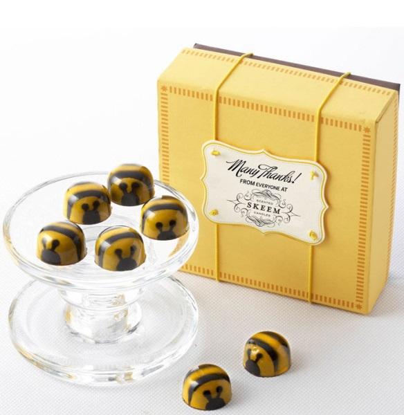 Конфеты John&Kira'sChocolates - карамельные 'пчелки' ручной работы