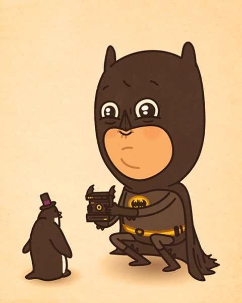 Batman из серии Cartoon Hero от Mike Mitchell