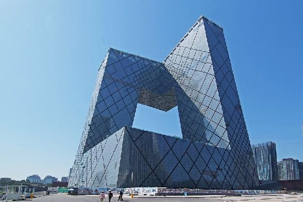 Cctv headquarters в Китае