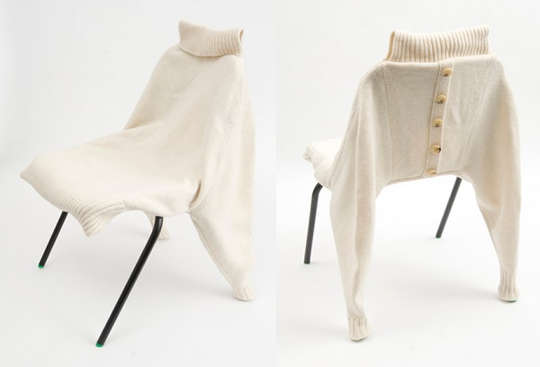 Chairwear Seat - укутанный стул от Anne O'Brien
