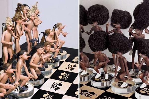 Шахматы со смыслом от Jake и Dinos Chapman