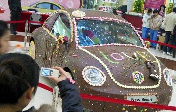 'Шоколадный' Volkswagen Beetle от китайской автомобильной компании