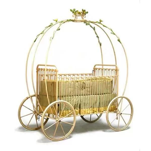 Carriage Crib – оригинальная кроватка для маленьких принцесс