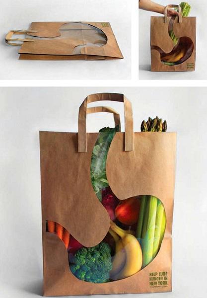 Сity Harvest Bag - эко-сумка с социальной рекламой