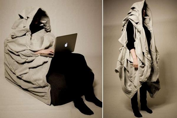 Sur Ciel Cloud-Chair от Jon Helgi Holmgeirsson - потрясающе уютная мебель, согревающая в холодную пору