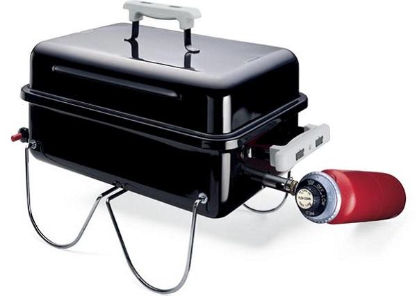 Компактный газовый гриль Weber's Go-Anywhere