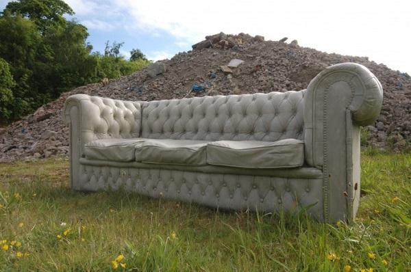 Бетонный диван от дизайн-бюро Gray Concrete