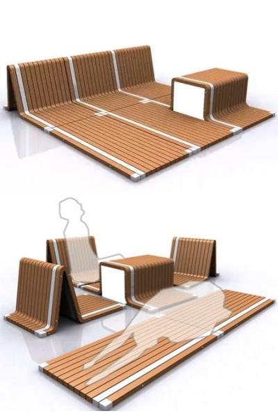 Концептуальный ковер-мебель от Cho Hyung Suk
