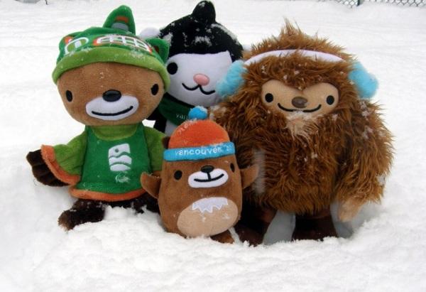 Miga, Quatchi, Sumi и Mukmuk - символы Олимпиады-2010