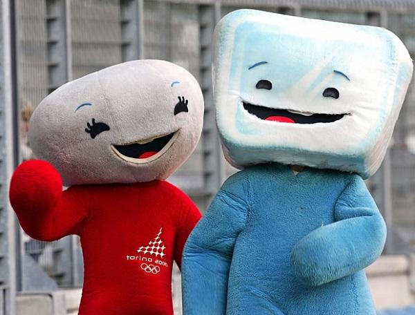 Neve и Gliz - символы зимней Олимпиады-2006