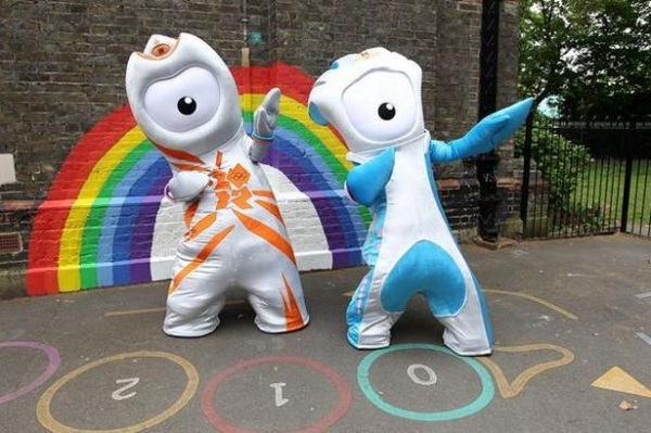 Wenlock и Mandeville - символы Олимпиады-2012