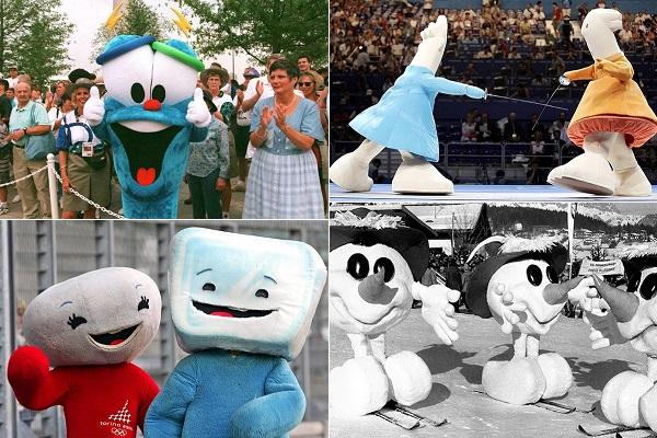 Самые странные талисманы за всю историю Олимпийских игр