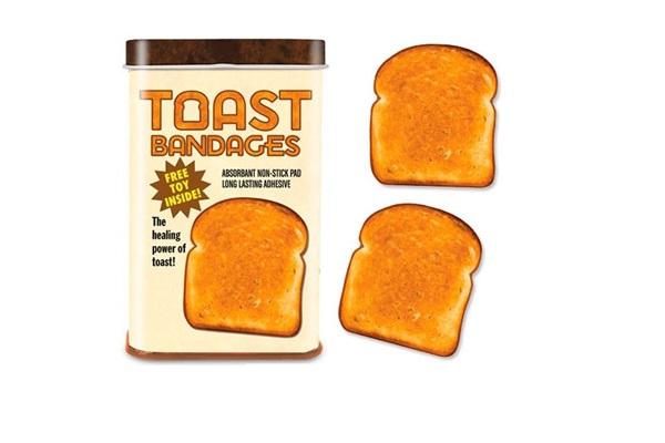 Пластырь с креативным принтом Toast