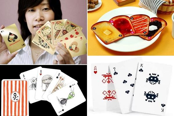Креативный дизайн игральных карт