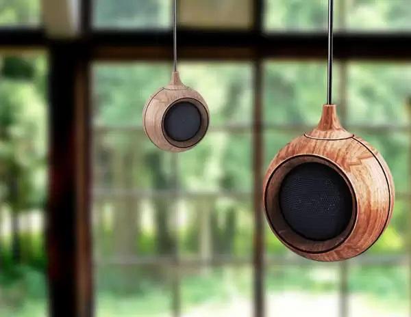 Концептуальные подвесные колонки Droplet Speaker от Yong Hwan Kwon