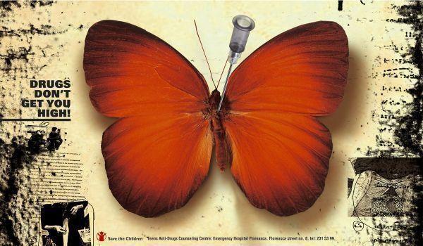 Румынская социальная реклама против наркотиков