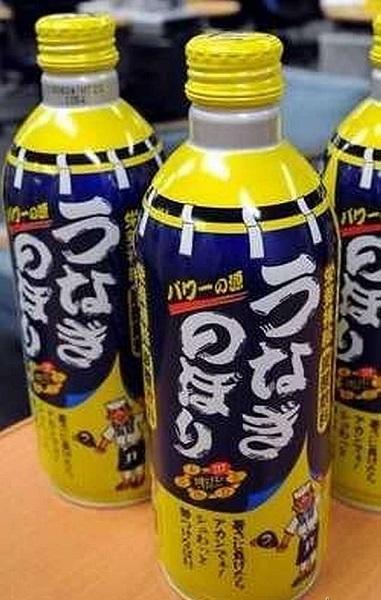 Необычный японский безалкогольный напиток Surging Eel