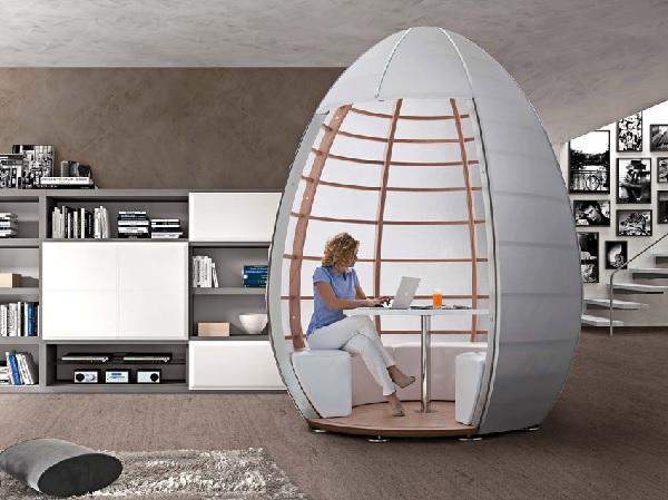 Рабочее место-'яйцо' от Tisettanta