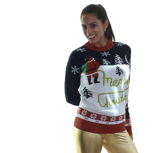 Теплый дизайнерский свитер от Tipsy Elves