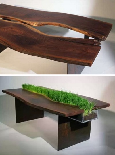 Стол-клумба от Emily Wettstein