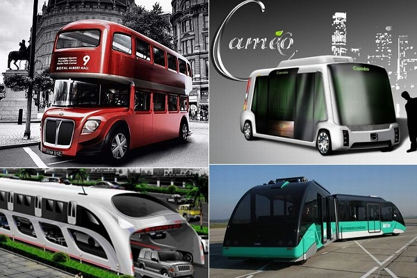 Концептуальные эко-автобусы будущего