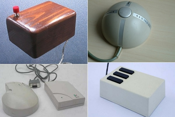 Эволюция компьютерной мыши