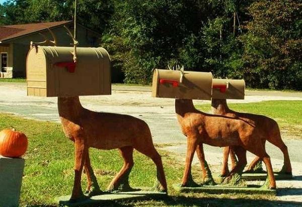 Еще один набор креативно оформленных почтовых ящиков для всей семьи