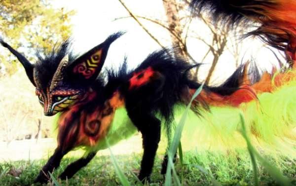 'Чучело' фантастического животного от Wood Splitter Lee