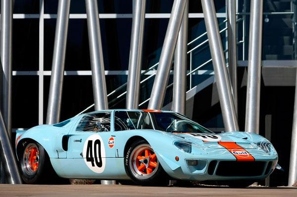 Ford GT40 Gulf/Mirage Lightweight Racing Car 1968 - самый дорогой автомобиль производства США