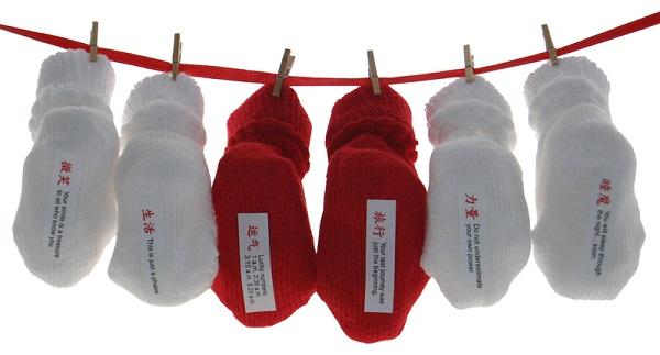 Предсказывающие будущее Fortune Tutsies - необычные носки для согрева ног ребенка и хорошего настроения родителей