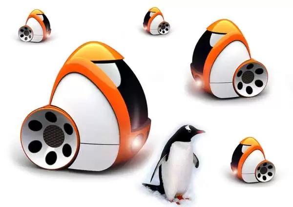 Автомобль-'пингвин' Gentoo - концепт C. Rameshkanth