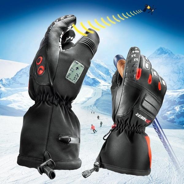 Лыжные перчатки GPS ski gloves - один из лучших гаджетов-новогодних подарков для мужчин