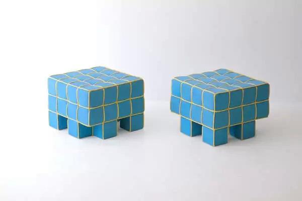 Grid от Kim Hyun Joo - мягкая мебель в стиле Tetris