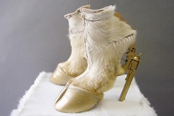 Копыта Gun Hoofs - оригинальная зимняя обувь от Iris Schieferstein