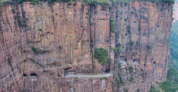 Guoliang Tunnel Road - самый экстремальный тоннель во всем мире
