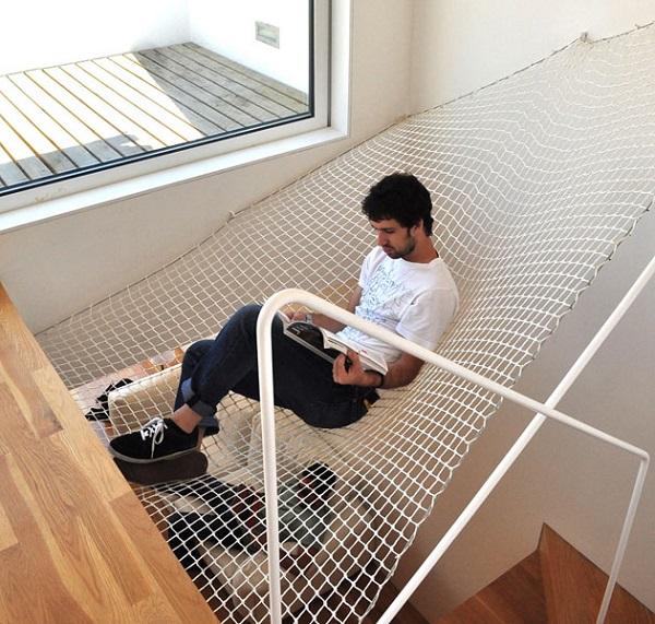 Гигантский гамак-кровать от Andrew Liszewski
