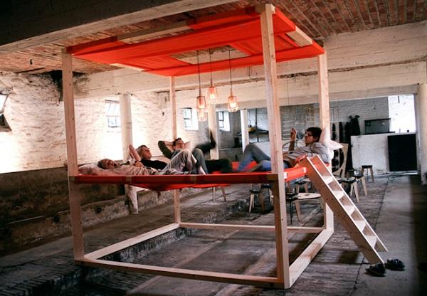 Гамачная кровать-чердак Коала 45 от Stal collectief