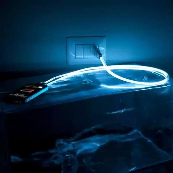 Hi-Cable Lighting - кабель для iPhone, справляющийся и с ролью лампы