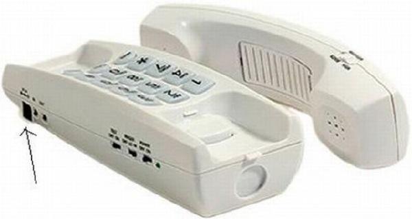 Скрытая камера Motion Detector Telephone