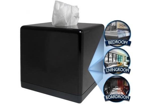 Tissue Box - скрытая камера-упаковка салфеток от BrickHouse