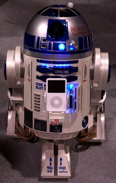 R2-D2 home entertainment system - полезный в хозяйстве полифункциональный гаджет от Nikko