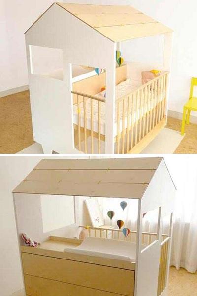 GRO Furniture Modular – детская кроватка-трансформер, растущая вместе с малышом