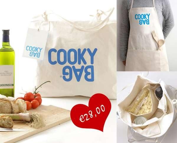 Cooky Bag - гибрид эко-сумки и кухонного фартука