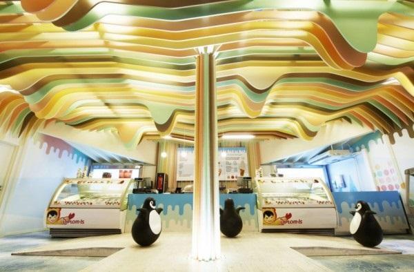 Ice Cream Castle – креативно оформленный норвежский магазин мороженого