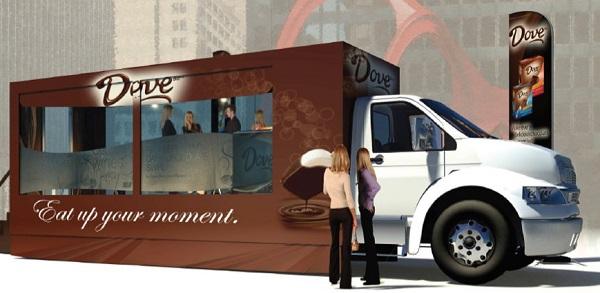 'Недетский' фургончик с мороженым от компании Mars в США