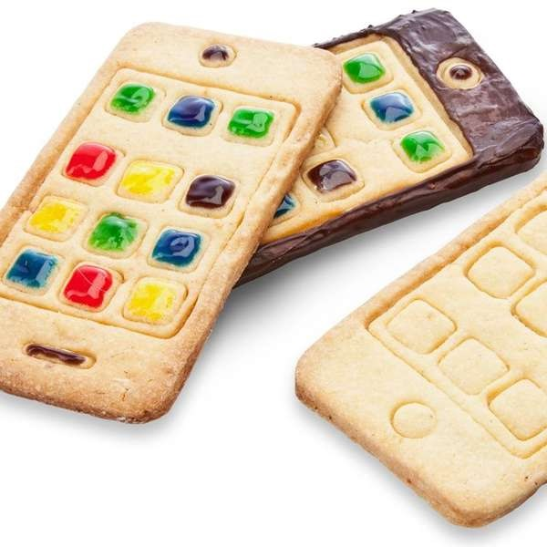 Печенье iCookie - лучший вкусный 'гаджет'-новогодний подарок для мужчин