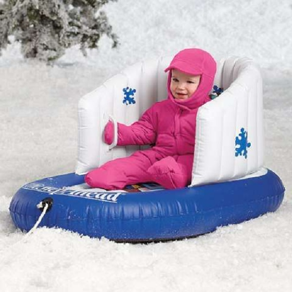 Inflatable Baby Sled – надувные сани для детей от 6 месяцев