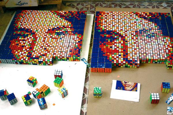 Картины в стиле 'рубокубизм'